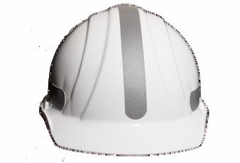 Liberty  Mohawk - Reflective Hard Hat -  Silver