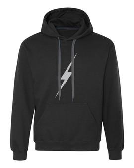 Reflective Hoodie -  Lightning bolt