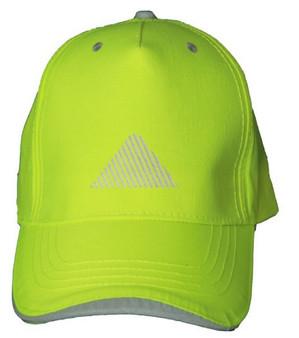 Reflective baseball  cap - Neocap - Top  Rounded Triangle - Segmenta
