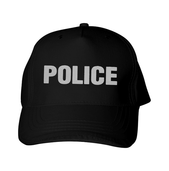 Reflective  utility  baseball  cap - Police