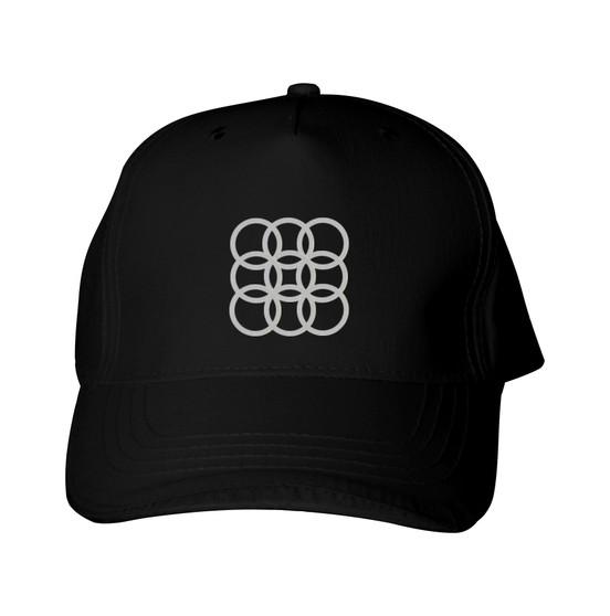 Reflective Baseball  Cap -  Circles Within Circles