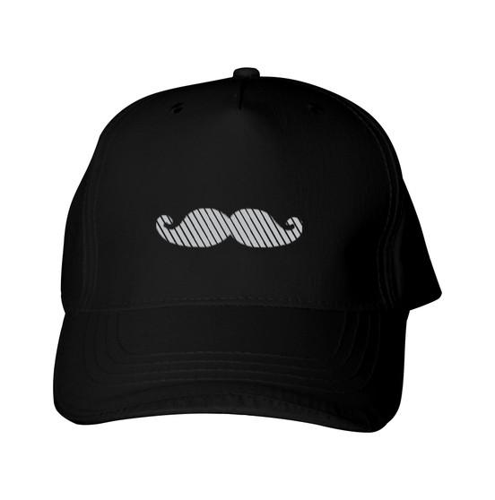 Reflective Baseball Cap  -  Segmented  Mustache - Segmenta