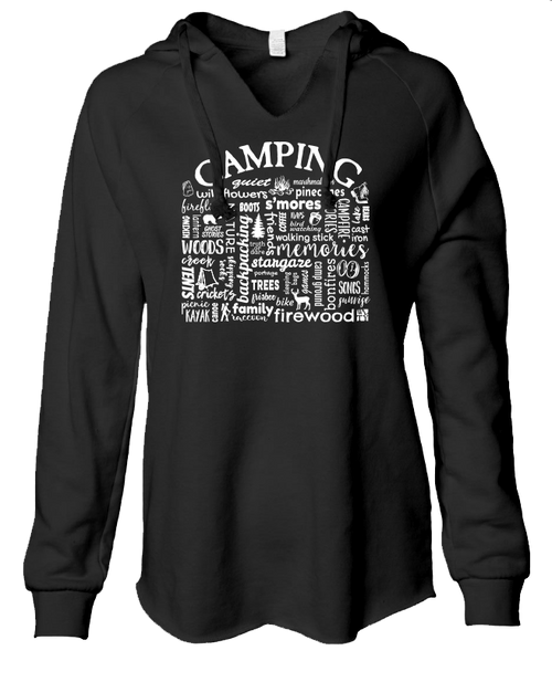 Camping - Ladies sweatshirt