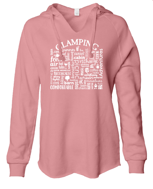Ladies sweatshirt - Glamping