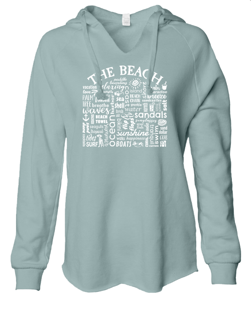 Ladies sweatshirt - The Beach