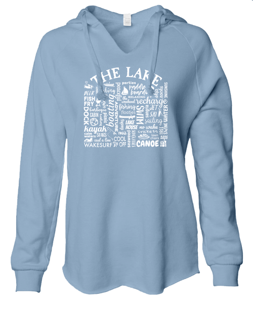 Ladies sweatshirt - The Lake