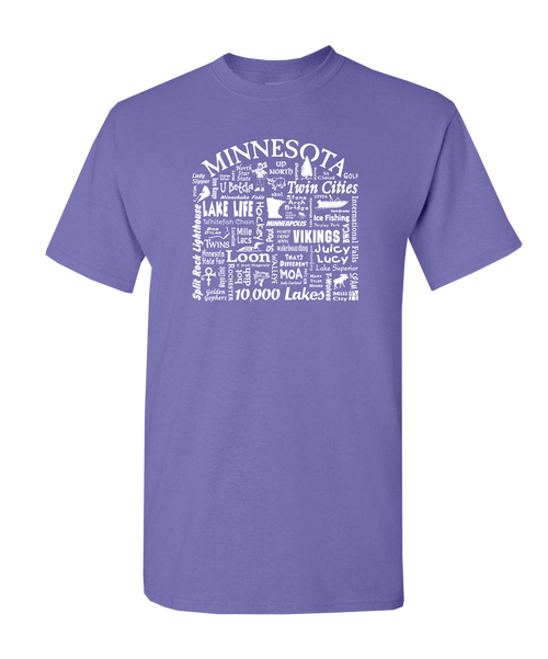Unisex SS T-shirt Minnesota Destination
