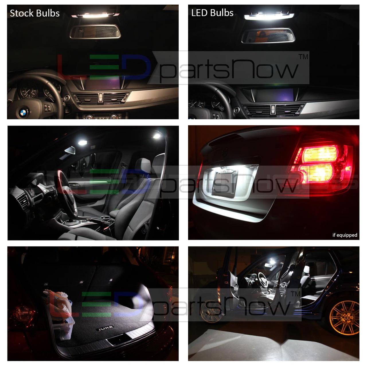 Green Interior LED Lights Package Kit for 2011-2016 Dodge Charger