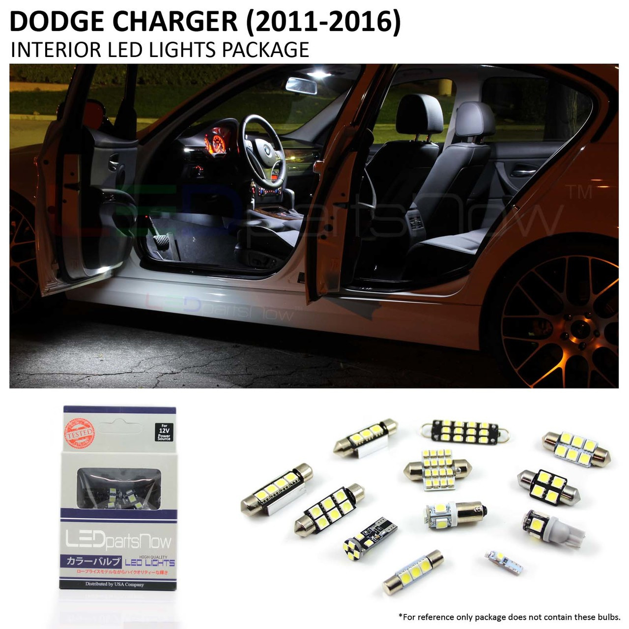 2011 2016 Dodge Chargert Interior Led Lights Package