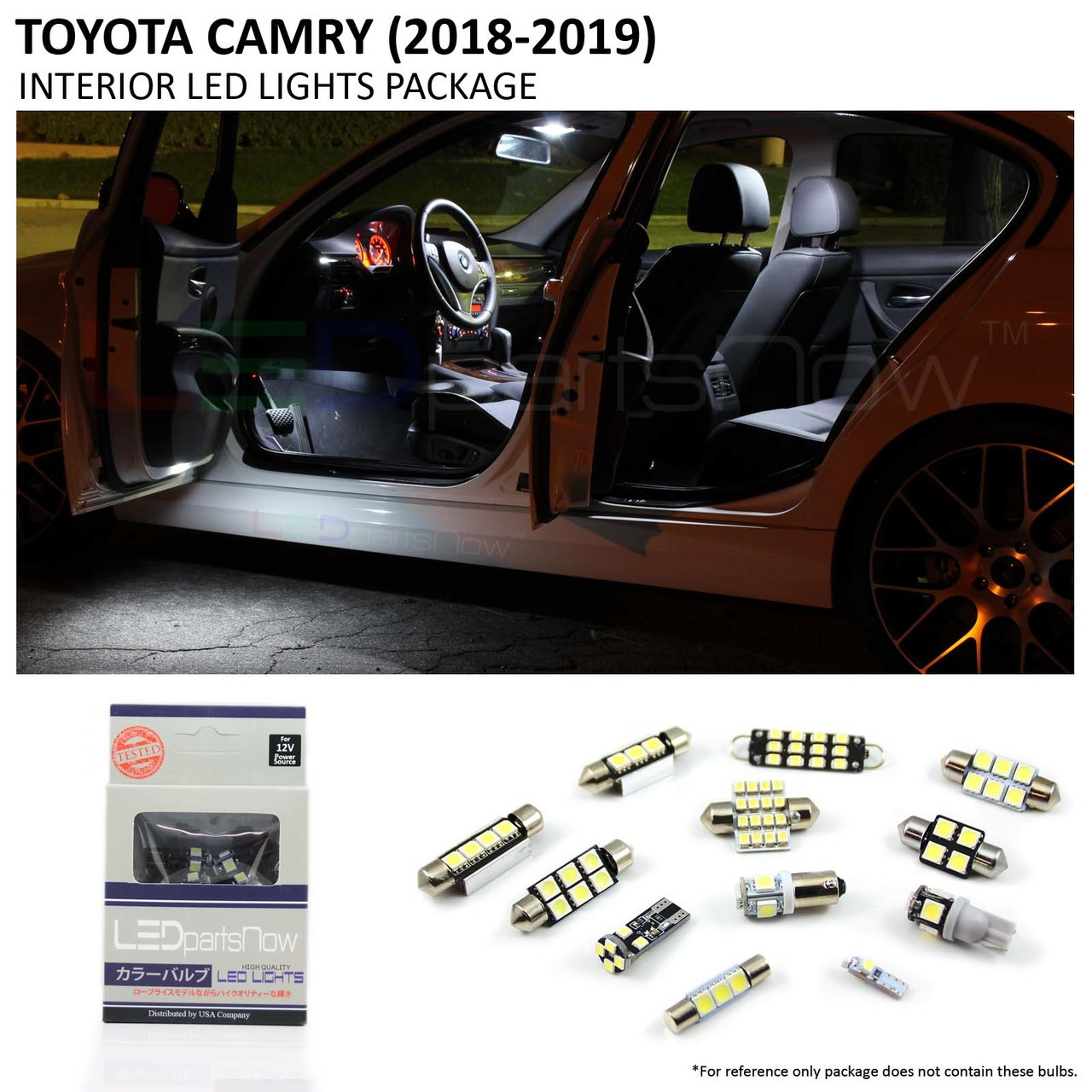 Toyota Camry 2018 Interior >> 2018 Toyota Camry Led Interior Lights Package