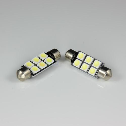 42mm 6-SMD Festoon LED Light Bulb