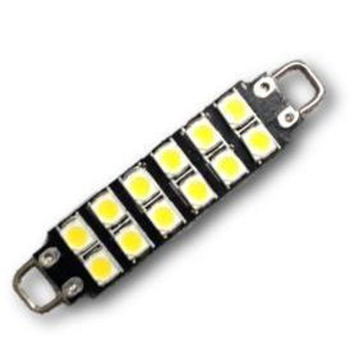 12 SMD Festoon lights 42mm to 44mm Rigid Loop LED Bulbs