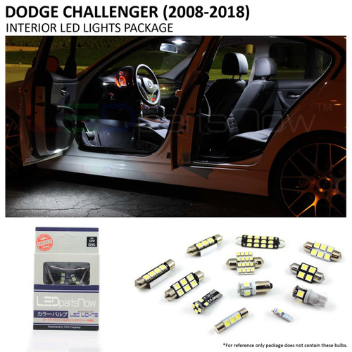 2008-2018 Dodge Challenger LED Interior Lights Package