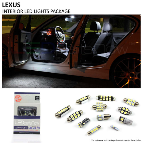 2006-2013 Lexus IS-250 IS-350 IS-F LED Interior Lights Package