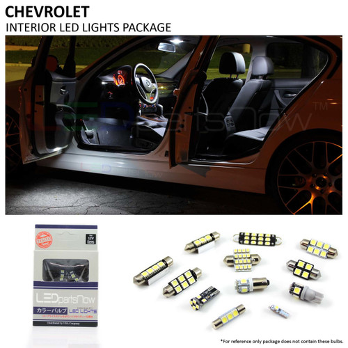 2015-2016 Chevy Impala LED Interior Lights Package