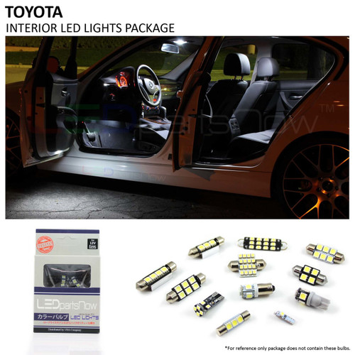 2002-2006 Toyota Camry with Sunroof LED Interior Lights Package