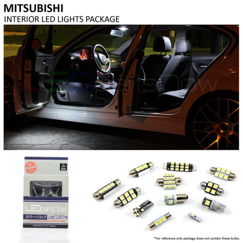 2006-2011 Mitsubishi Eclipse LED Interior Lights Package