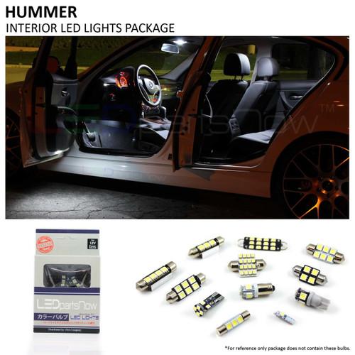 2003-2009 Hummer H2 LED Interior Lights Package