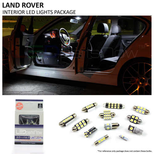 2002-2012 Land Rover Range Rover L322 Mark III LED Interior Lights Package