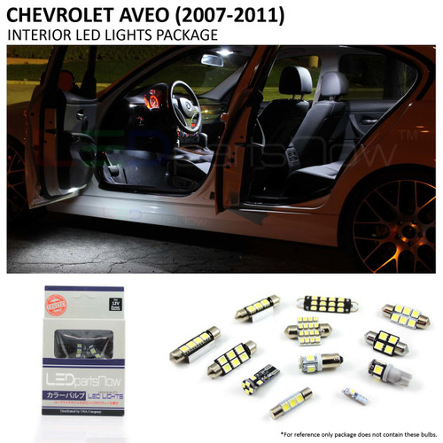 2007-2011 Chevy Aveo LED Interior Lights Package
