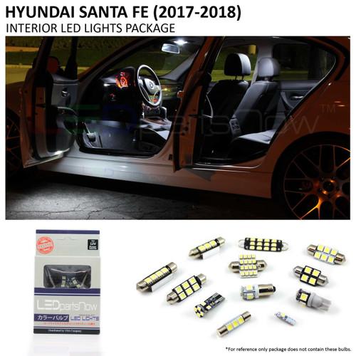 2017-2018 Hyundai Santa Fe LED Interior Lights Package