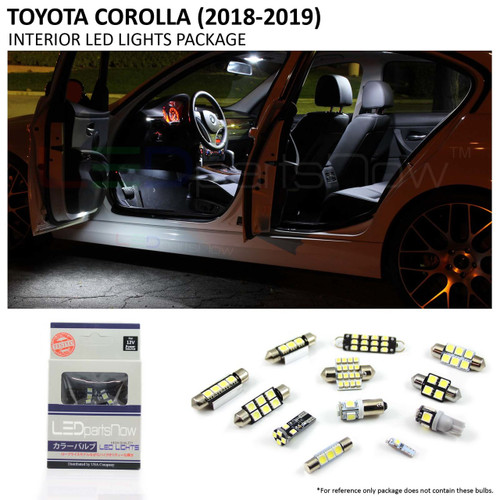 2017-2018 Toyota COROLLA LED Interior Lights Package