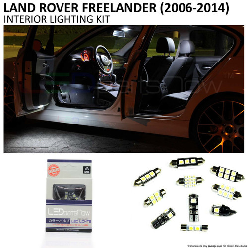 2006-2014 Land Rover LR2 Freelander LED Interior Lights Package