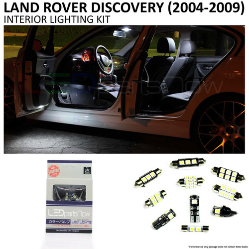 2004-2009 Land Rover LR3 Discovery LED Interior Lights Package