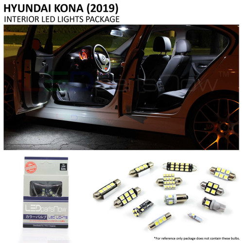 2018-2019 Hyundai Kona LED Interior Lights Package