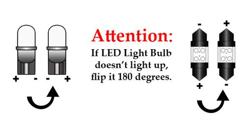 T10 Wedge 28-SMD LED Light Bulb