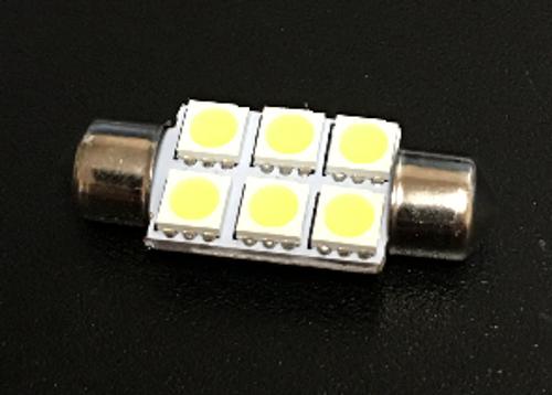 36mm 6-SMD Festoon LED Light Bulb