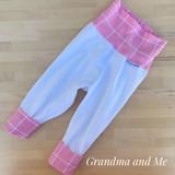 9-18m Pink/White Pants