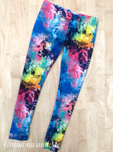 Size 8 Rainbow Smoke Leggings