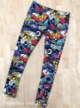 Size 8 Graffiti Leggings