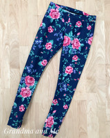 Size 6 Floral Leggings