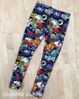 Size 5 Graffiti Leggings