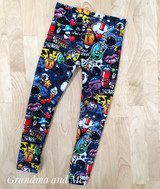 Size 3 Graffiti Leggings