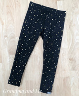 Size 4 Gold Star Leggings
