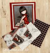 Gorjuss Fabric Kit