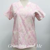 Pink/Cream Print 3/L