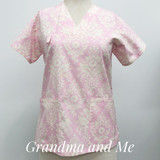 Pink/Cream Design 1/S