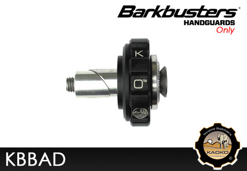 KAOKO Motorcycle Throttle Stabilzers for KTM 950 SuperMoto (with Barkbusters VPS or Storm handguards)