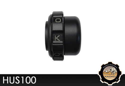 KAOKO Motorcycle Throttle Stabilzers for Husqvarna TR650 Terra (2013-) ( With Barkbuster Handguards)