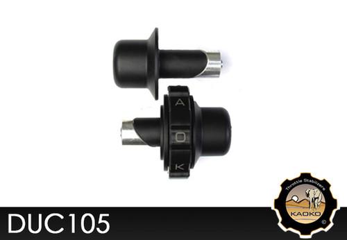 KAOKO Motorcycle Throttle Stabilzers for Ducati Streetfighter 848