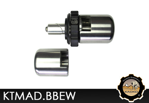 KAOKO Motorcycle Throttle Stabilzers for KTM 690 & 990 Adventure Models (with Barkbusters)