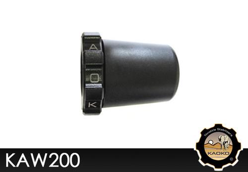 KAOKO Motorcycle Throttle Stabilzers for Kawasaki KLR650 ABS