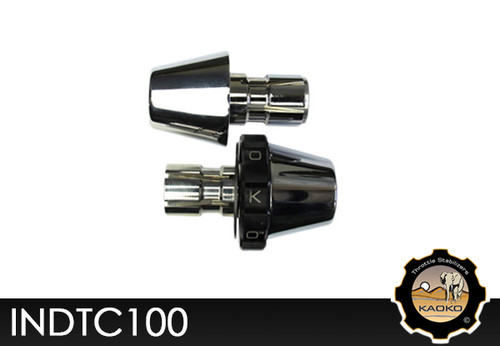 KAOKO Motorcycle Throttle Stabilzers for Indian Scout (2015 - ) Chrome