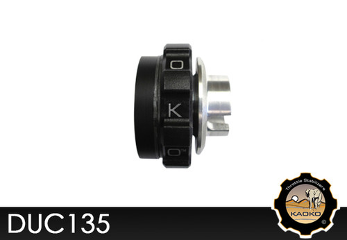 KAOKO Motorcycle Throttle Stabilzers for Ducati Hypermotard 1100S (2008 - )