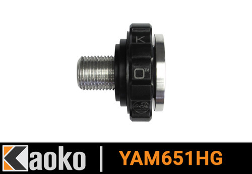 KAOKO Throttle Stabilizer Tracer 900 with Heated Grips