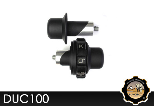 KAOKO Motorcycle Throttle Stabilzers for Ducati 848